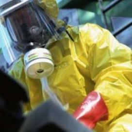 Bedrijfsongeval-gevaarlijke stoffen