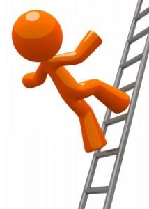 bedrijfsongeval-ladder-vallen